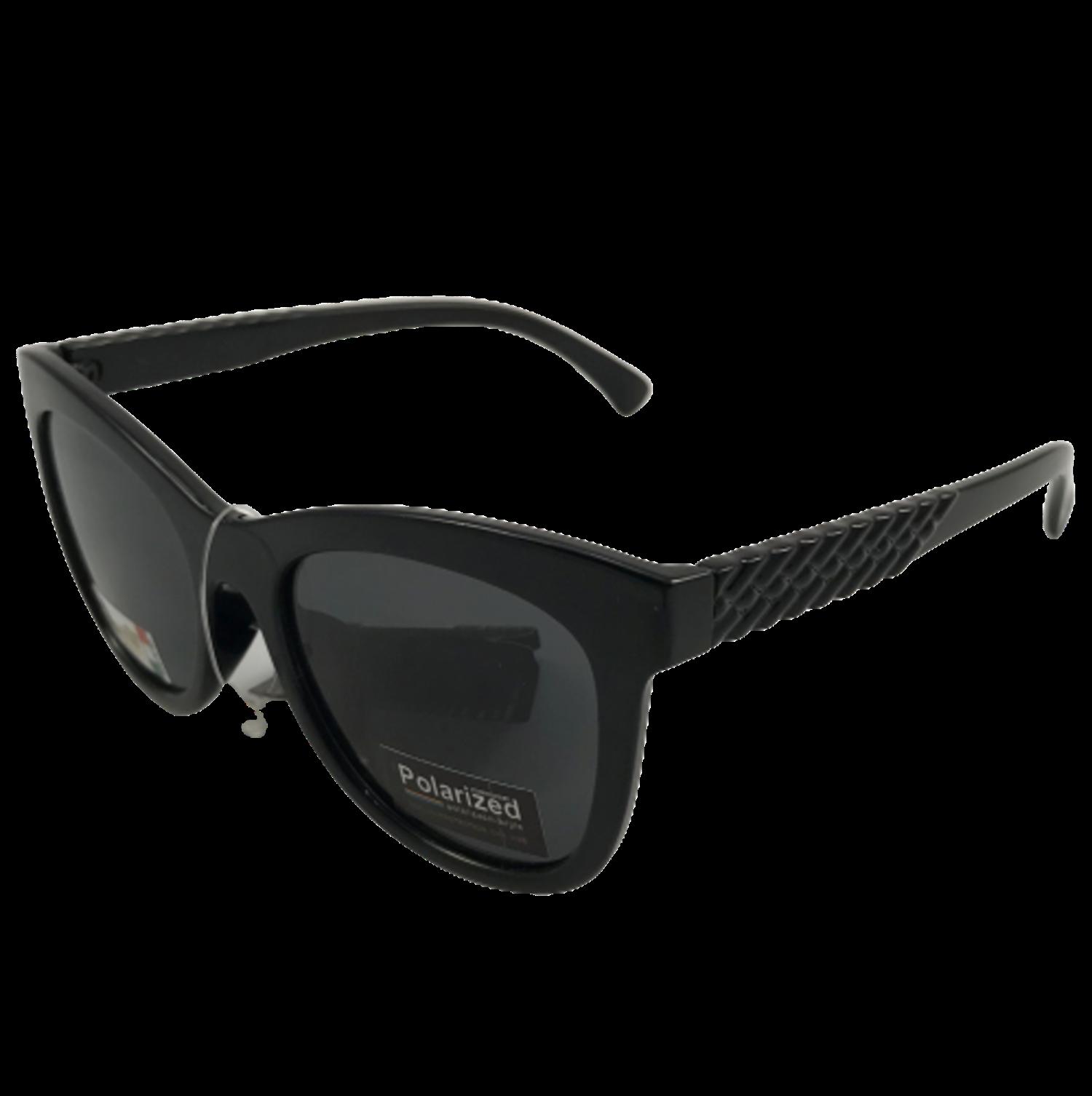 Polarized Brýle polarizační plastové černé lesklé K7308P-č