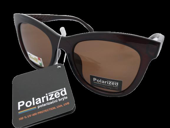 Polarized Brýle polarizační plastové černé K7308-h