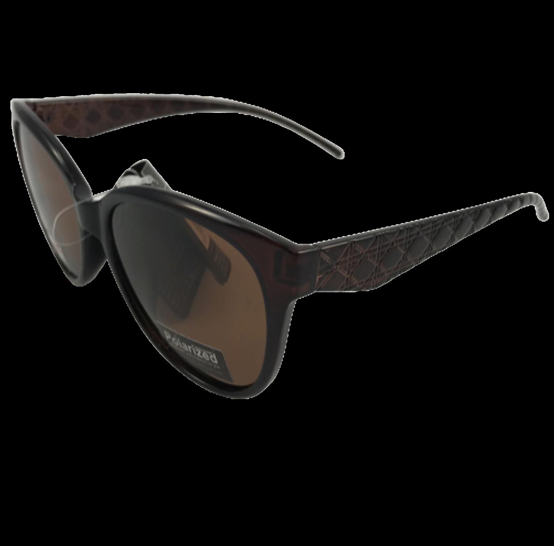 Polarized Brýle polarizační plastové hnědé K7311P-h