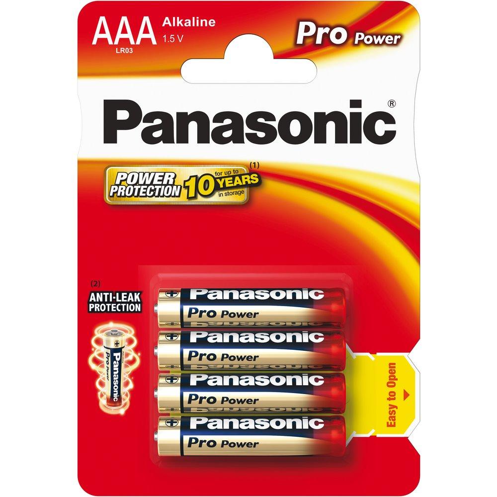Panasonic Baterie Pro Power AAA 4ks