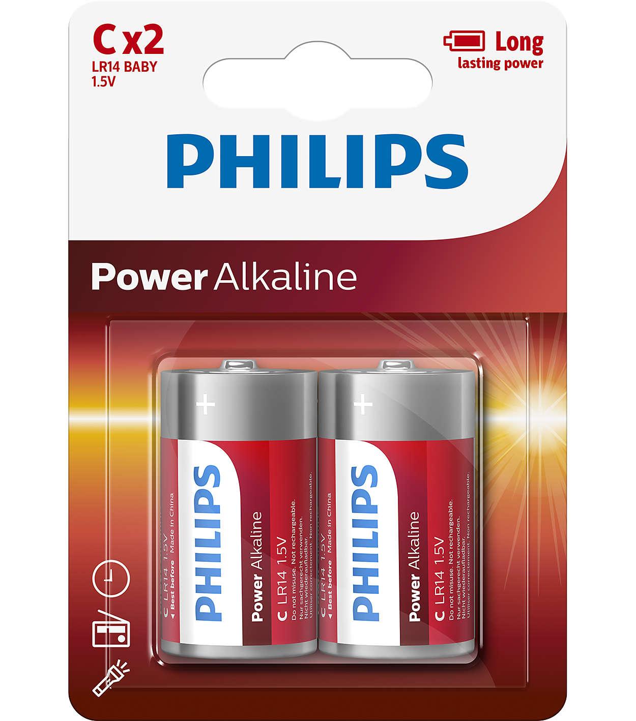 Philips Powerlife LR14P2B C 2ks