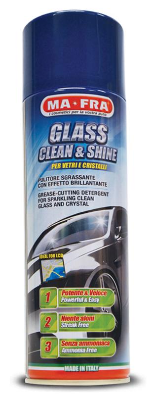 MA-FRA® GLASS CLEAN AND SHINE Čistič skel a hladkých povrchů 600ml
