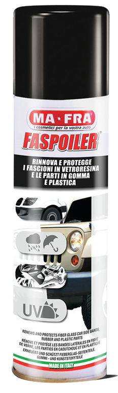 MA-FRA® FASPOILER Ochranná leštěnka na vnější plasty 300ml