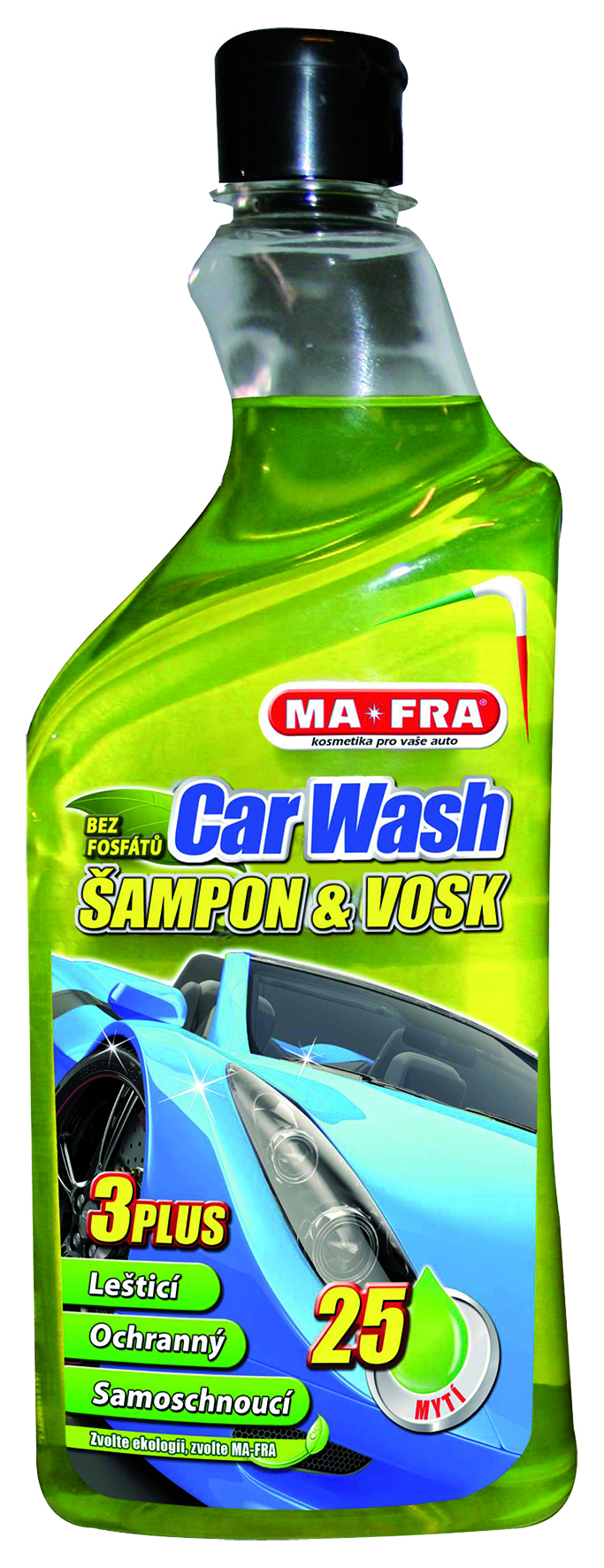 MA-FRA® CAR WASH Šampón s voskem 750ml