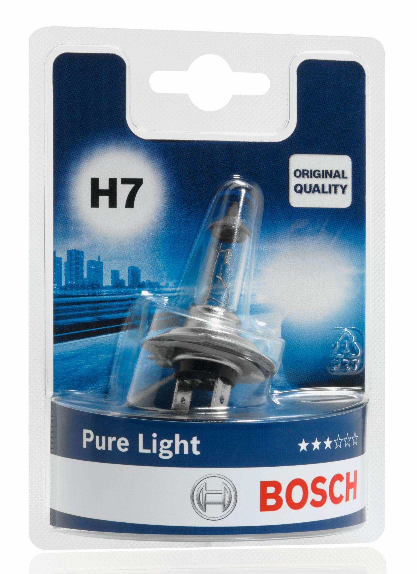 Bosch Pure Light 1987301012 H7 PX26d 12V 55W