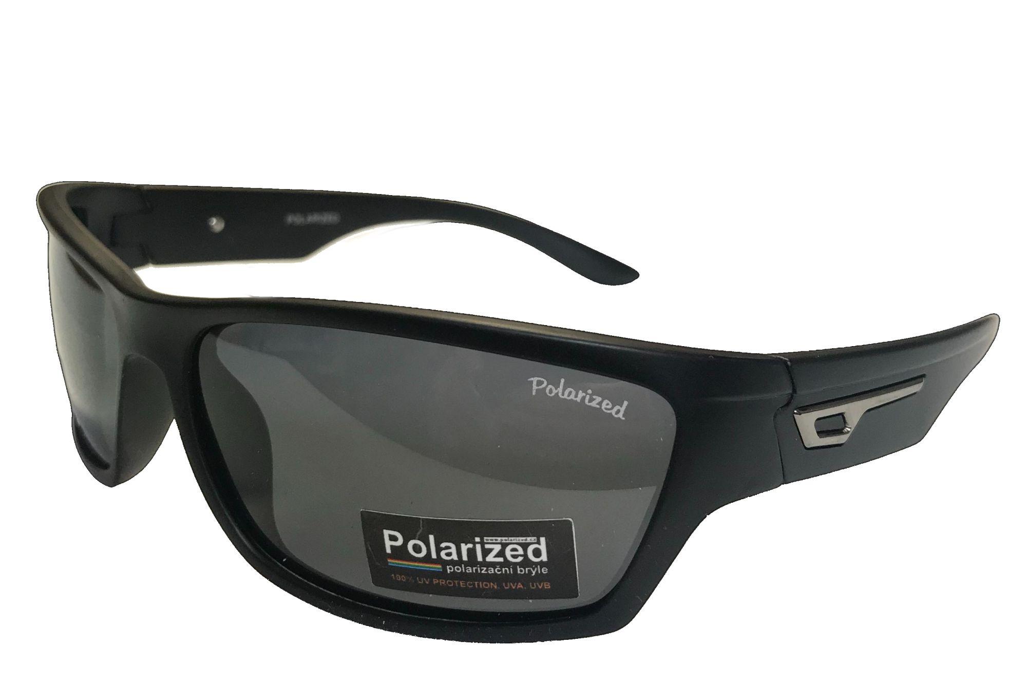 Polarized Brýle polarizační plastové černé CY-P18015