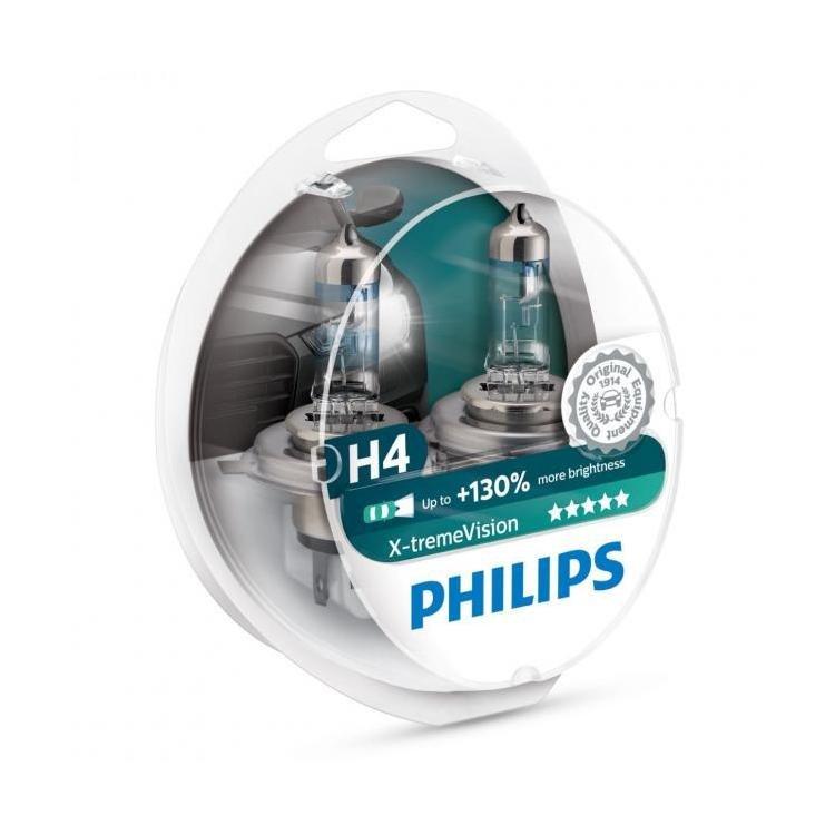 Žárovky 12V H4 60/55W PH XtremeVision+130% 2ks
