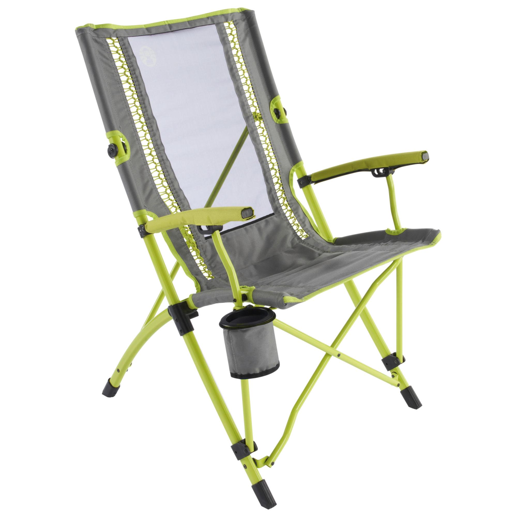 Coleman® BUNGEE CHAIR Židle kempingová limetková