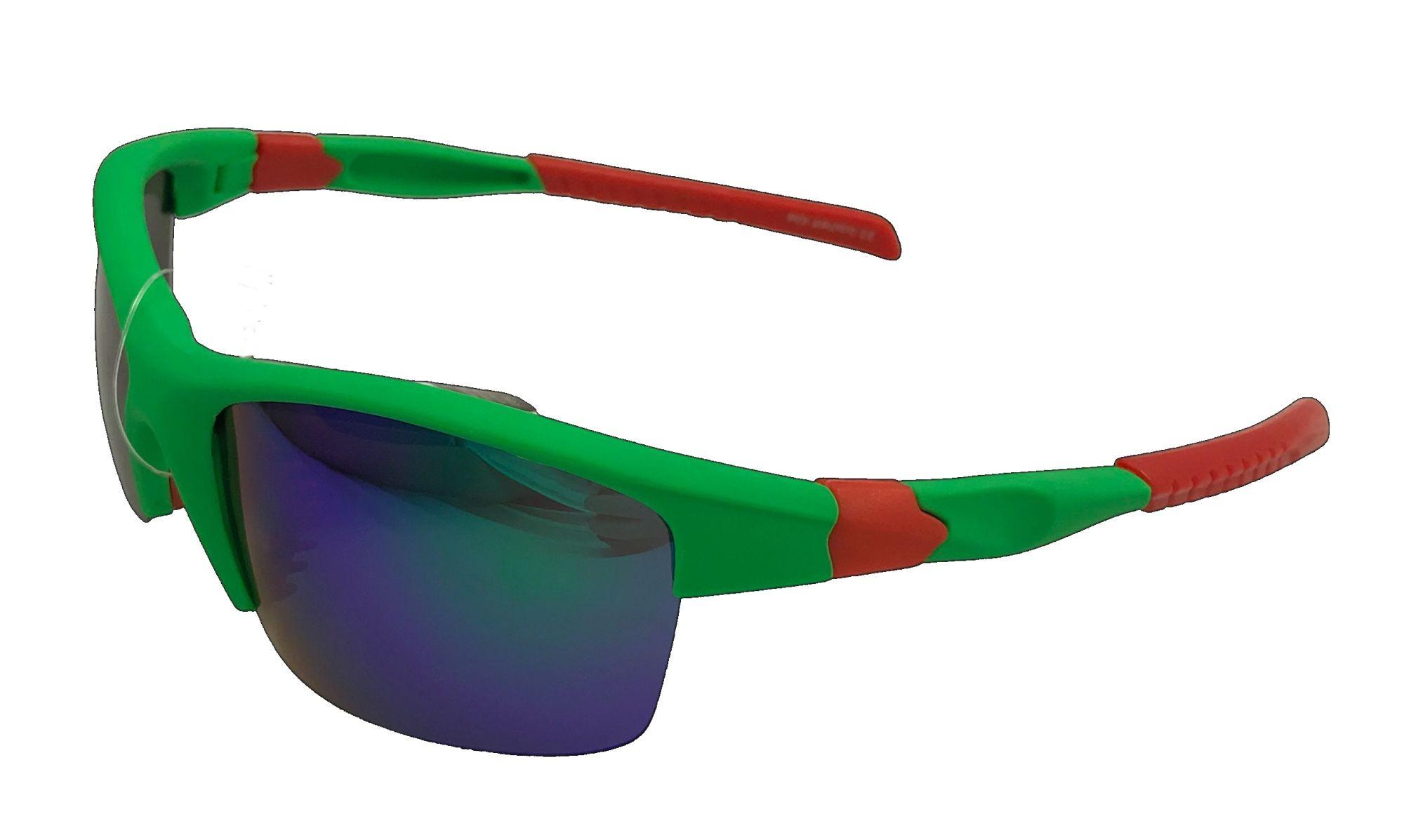 Polarized Brýle polarizační plastové zeleno-červené PL7126-z
