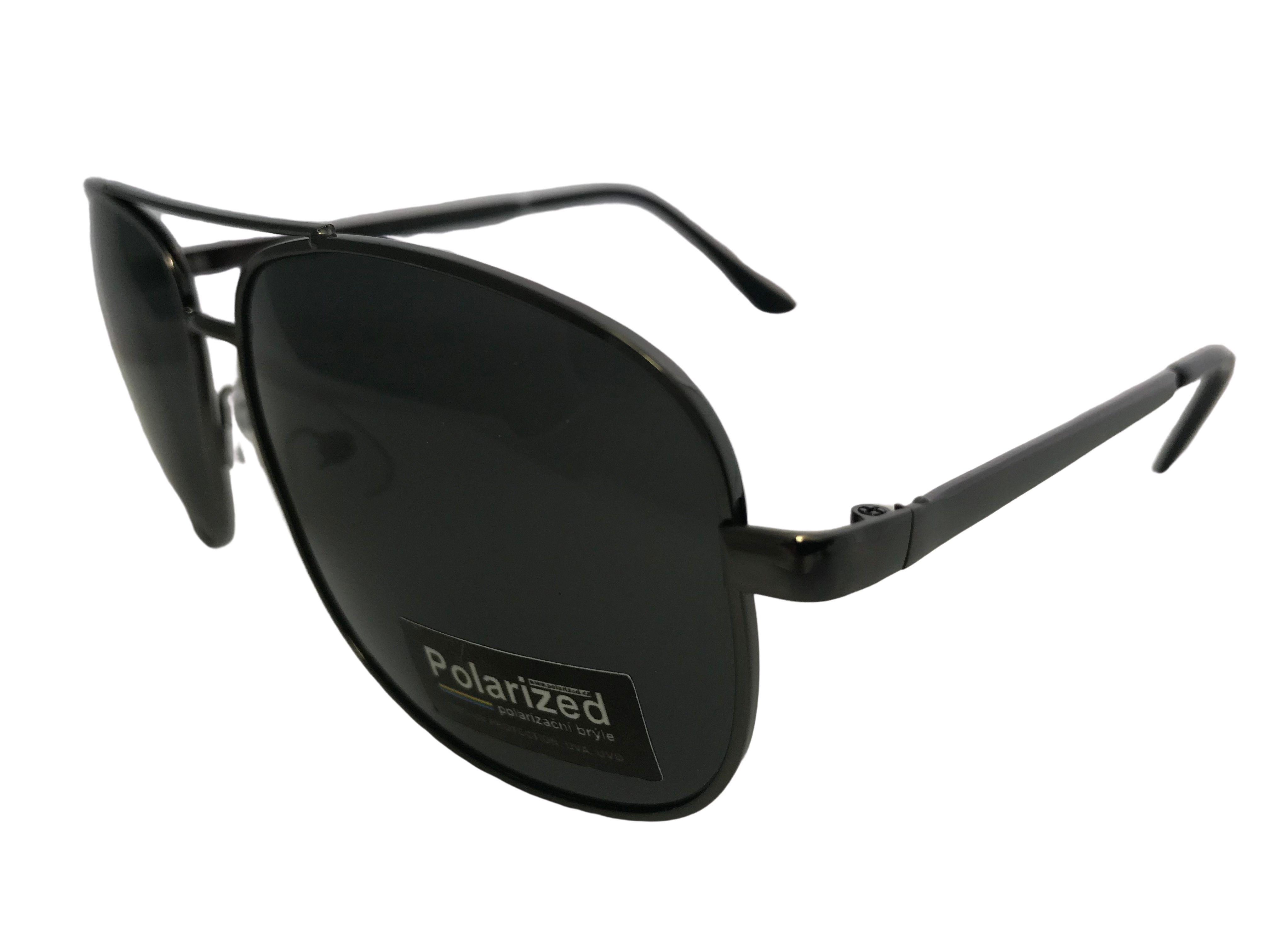 Polarized Brýle PILOT polarizační šedé R9083