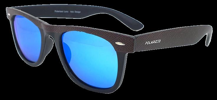Polarized Brýle polarizační fashion dámské SGLPO2.149 černé zdobené
