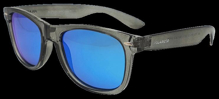 Polarized Brýle polarizační fashion dámské SGLPO2.157 transparentní šedé