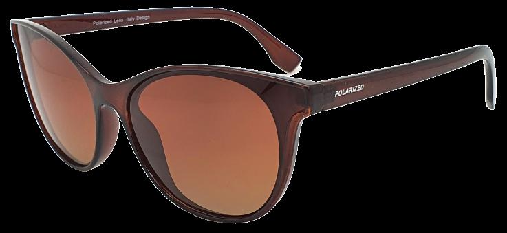 Polarized Brýle polarizační fashion dámské SGLPO2.160 hnědé