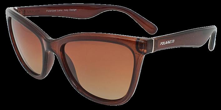 Polarized Brýle FASHION polarizační dámské SGLPO2.162 hnědé