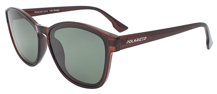 Polarized Brýle polarizační fashion dámské SGLPO2.193 hnědé