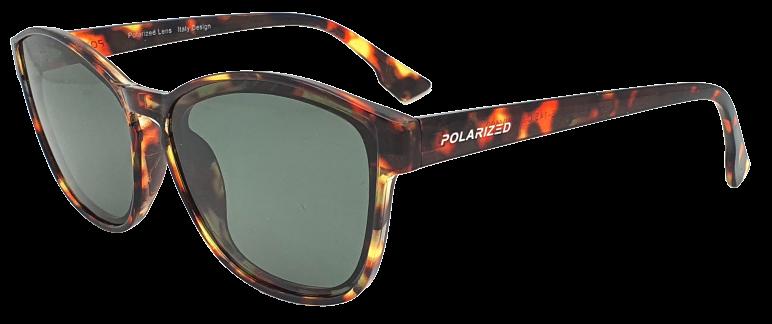 Polarized Brýle polarizační fashion dámské SGLPO2.193 tygrované šedá skla
