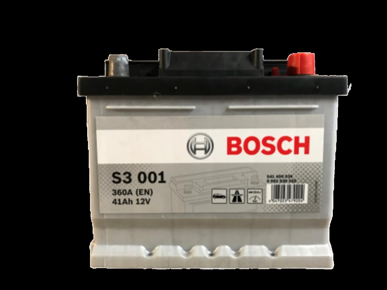 Bosch Autobaterie S3/41Ah/360A