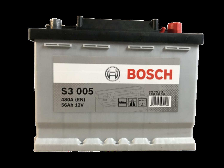 Bosch Autobaterie S3/56Ah/480A