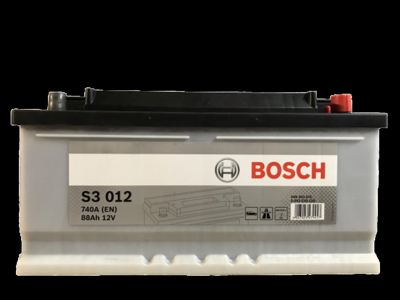 Bosch Autobaterie S3/88Ah/740A