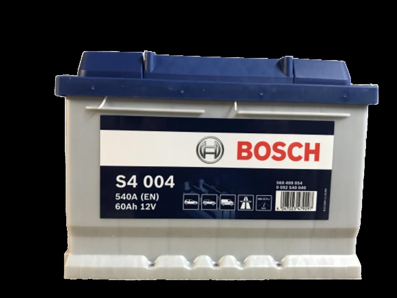 Bosch Autobaterie S4/60Ah/540A