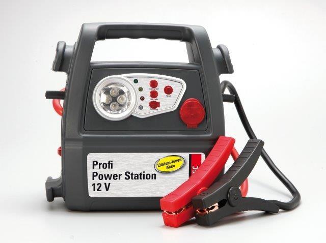 Unitec Startovací stanice PROFI POWERSTATION 12V s kompresorem 18 barů