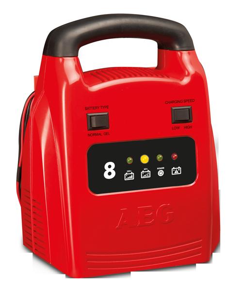 AEG Nabíječka autobaterií 8A 12V automatická, 2 - 80Ah