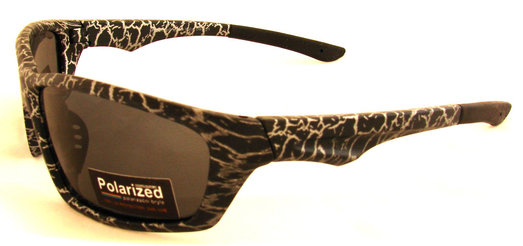 Polarized Brýle polarizační plastové tygrované SGLPO2.46