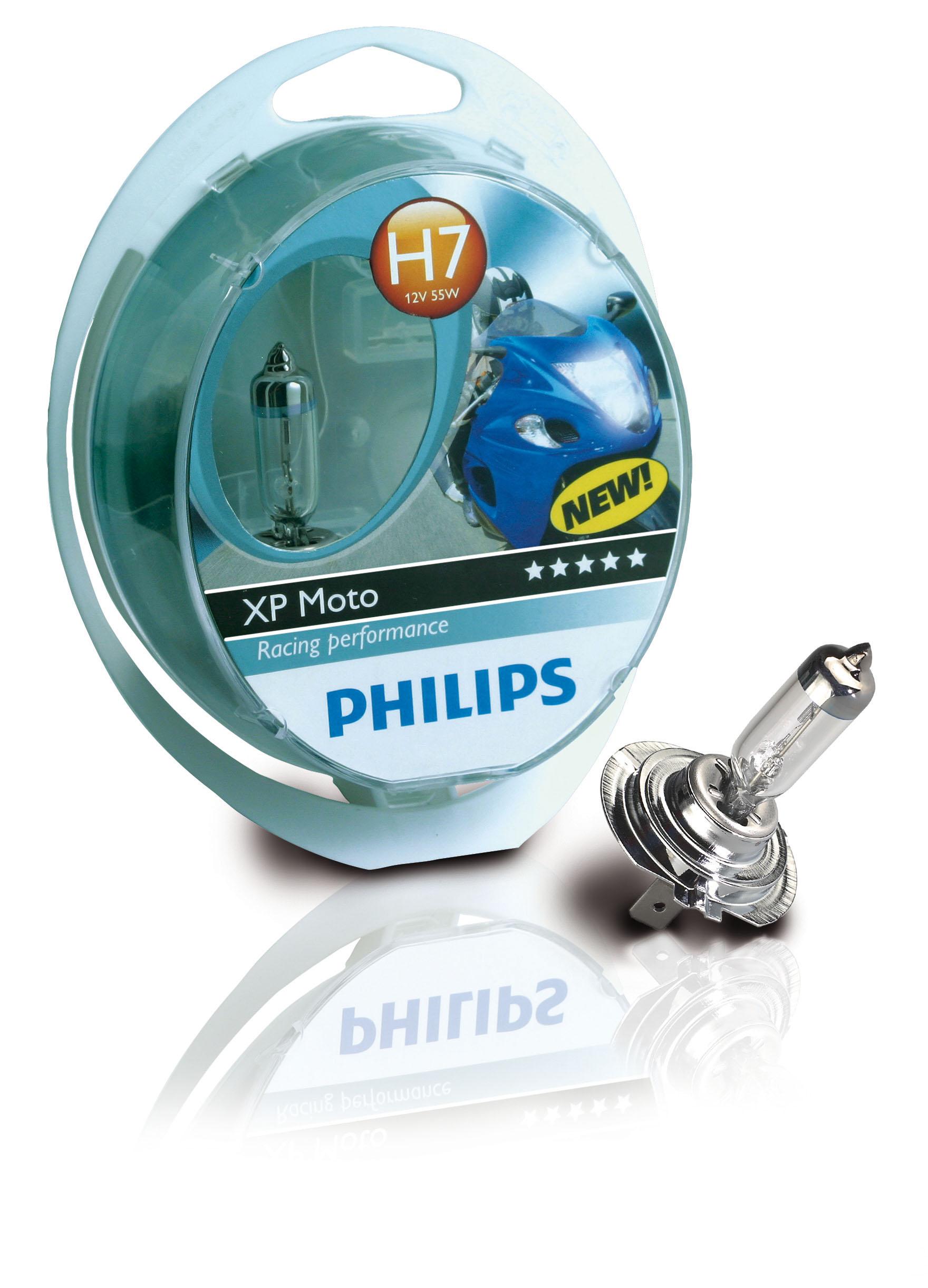 Philips X-treme Power Moto 80% 12972XPS1 H7 PX26d 12 V 55 W