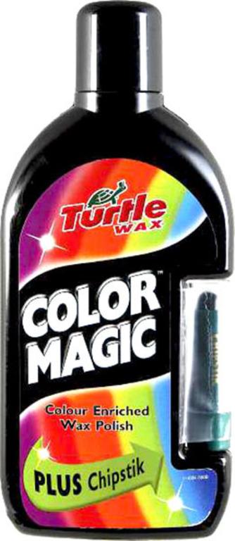 Turtle Wax® Barevný vosk - černá 500ml