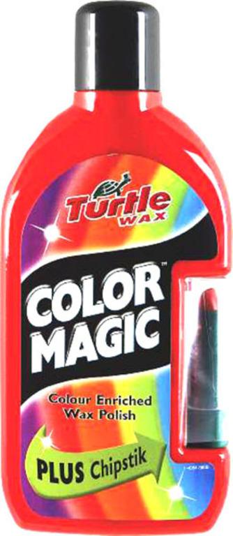 Turtle Wax® Barevný vosk - světle červená 500 ml