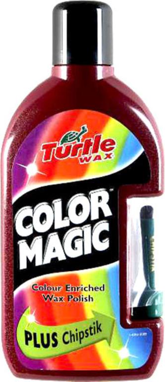 Turtle Wax® Barevný vosk - tmavě červená 500ml