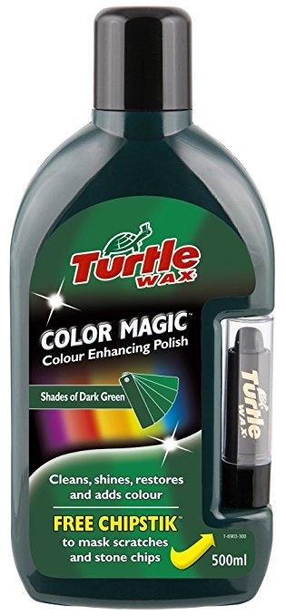 Turtle Wax® Barevný vosk - tmavě zelená 500ml