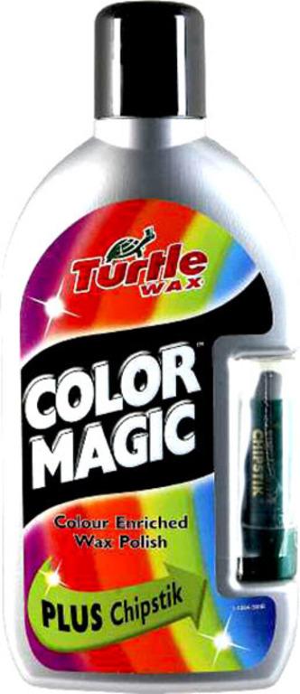 Turtle Wax® Barevný vosk - stříbrná 500ml