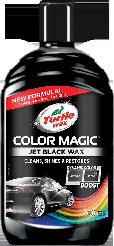 Turtle Wax® Barevný vosk - černý 500ml