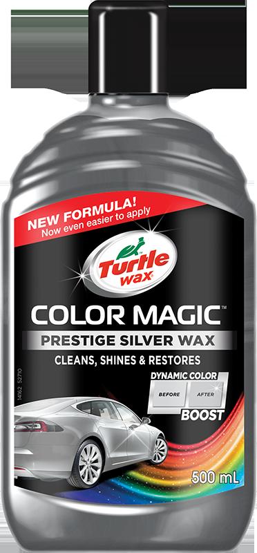 Turtle Wax® Barevný vosk - stříbrný 500ml