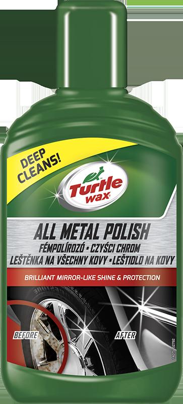 Turtle Wax® Green Line Leštěnka na všechny kovy 300ml