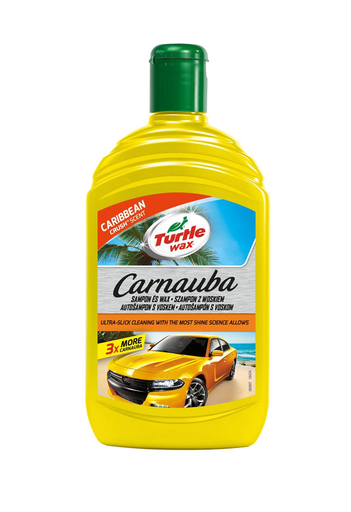 Turtle Wax® Carnauba Autošampon s voskem tropická vůně 500 ml