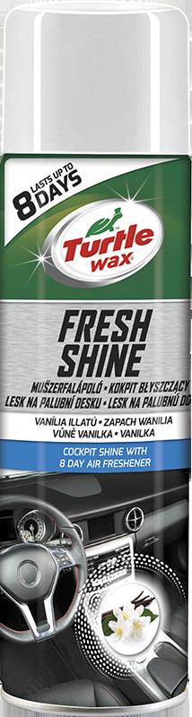 Turtle Wax® Lesk na palubní desku s osvěžovačem vzduchu - Vanilka 500ml