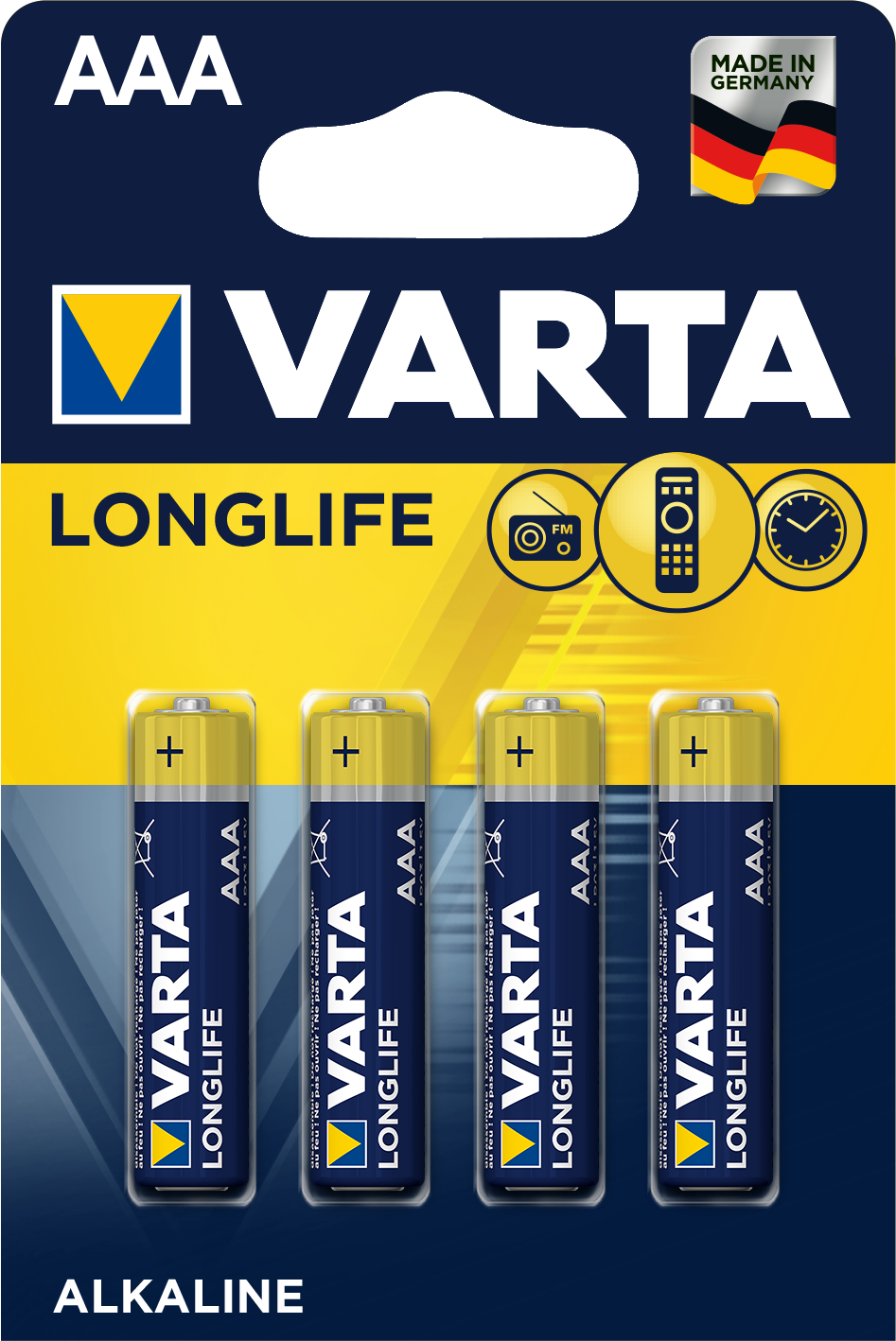 Varta Longlife 4103101414 AAA 4ks