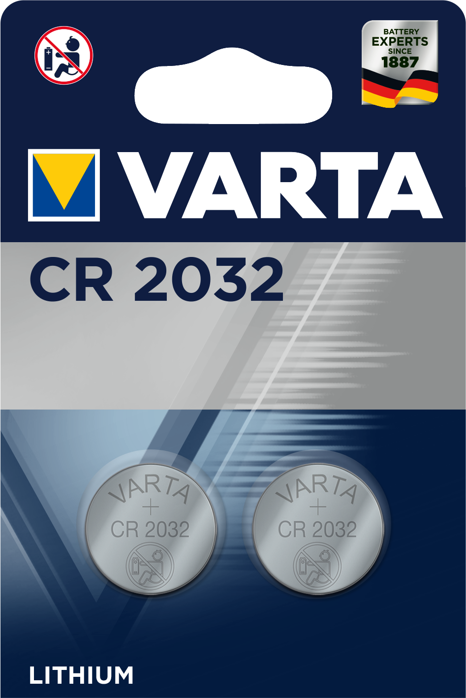 Varta CR 2032 6032101402 2ks