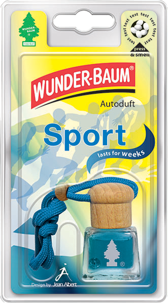 WUNDER-BAUM® Tekutý osvěžovač Sport 4,5ml