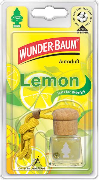 WUNDER-BAUM® Tekutý osvěžovač Citron 4,5ml