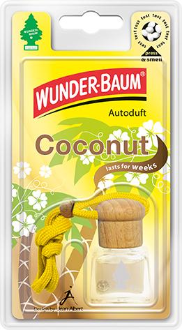 WUNDER-BAUM® Tekutý osvěžovač Kokos 4,5ml