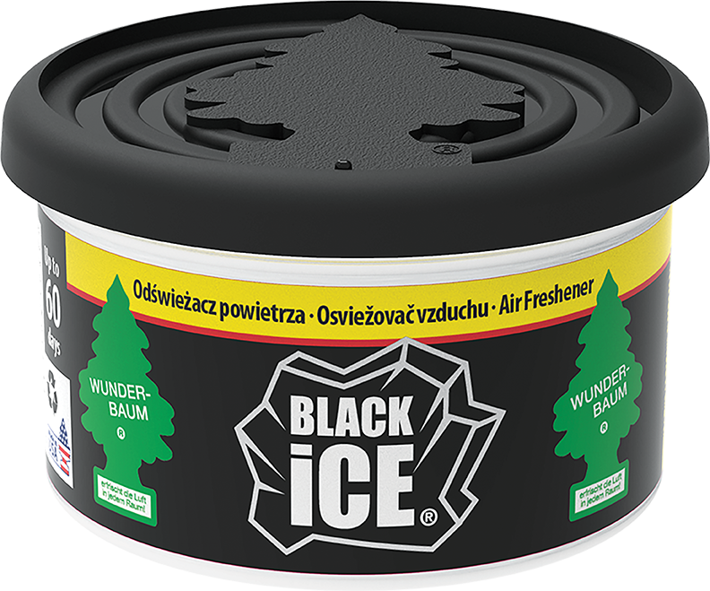 Wunder-Baum® Fiber Can Black Ice