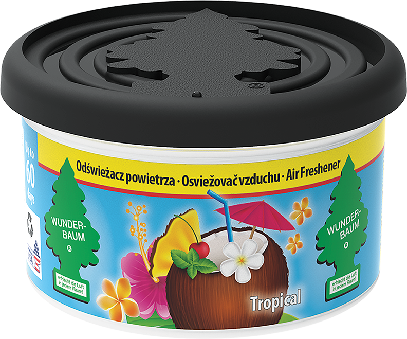 Wunder-Baum® Fiber Can Tropical