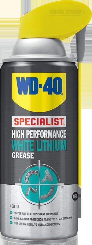 WD-40 Specialist Vysoce účinná bílá lithiová vazelína 400ml