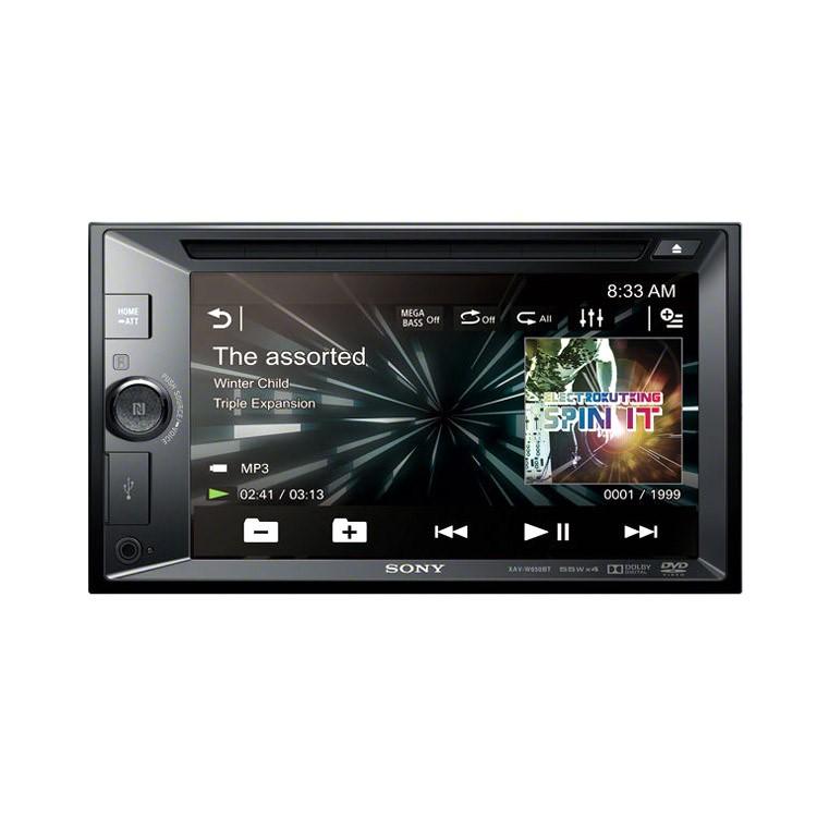 SONY Autorádio, 2DIN s DVD, dotykovým LCD, USB, BT XAVW651BT.EUR